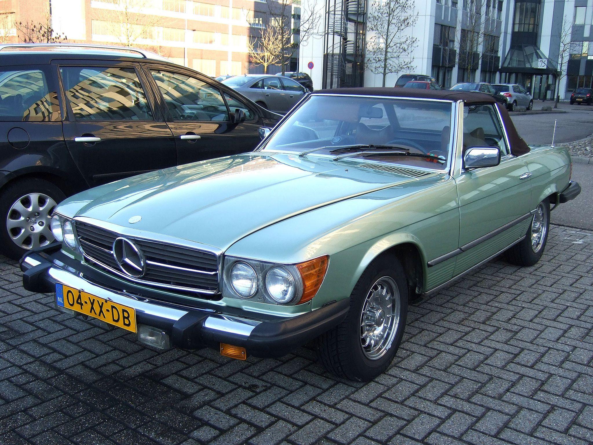 Mercedes 450 Sl Feb 1978 Us Version Mercedes Benz Classic Mercedes Mercedes Benz Cars