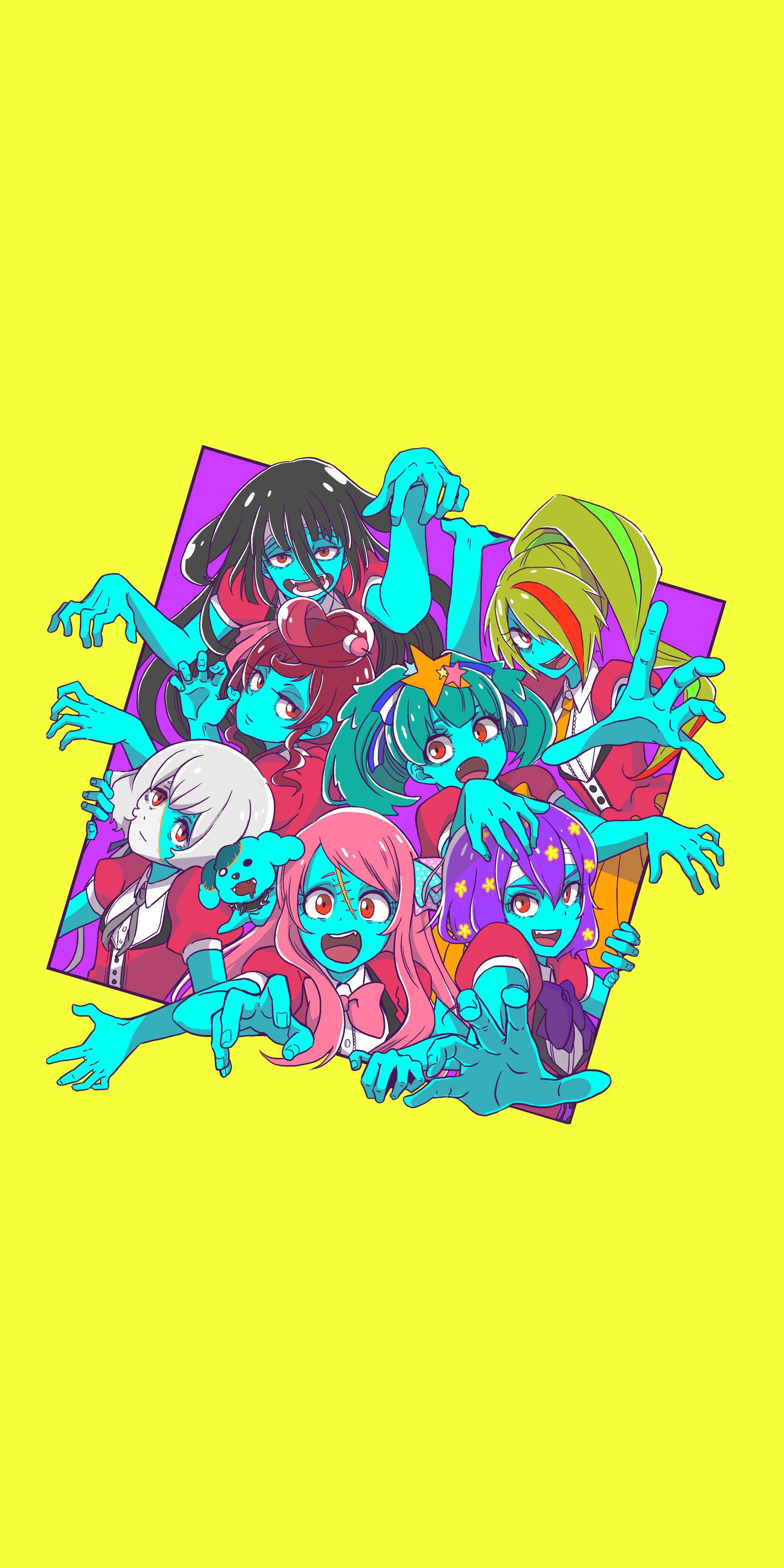Zombieland Saga 1729x3458 Music Indieartist Chicago Zombieland Zombie Land Saga Saga Art