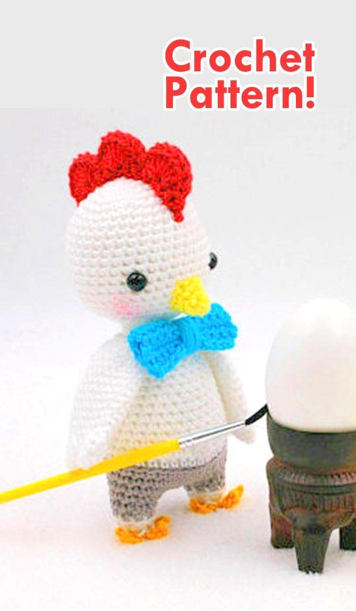 Easter Chick & Chicken Crochet Pattern Roundup!