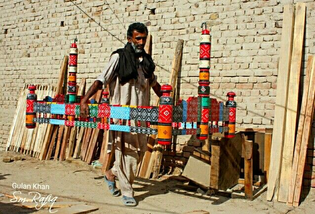 So Beautiful Photography Of Hala Handicrafts Work At Hala Sindh