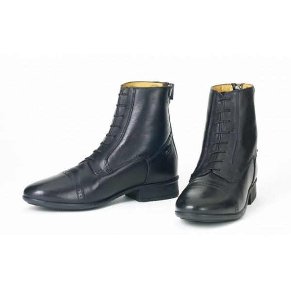 88439b2852c Finesse Concours women's leather zip paddock boots by Ovation ...