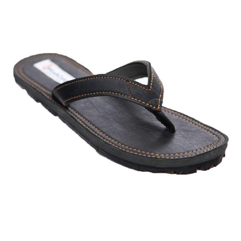 Womens leather flip flops sandals
