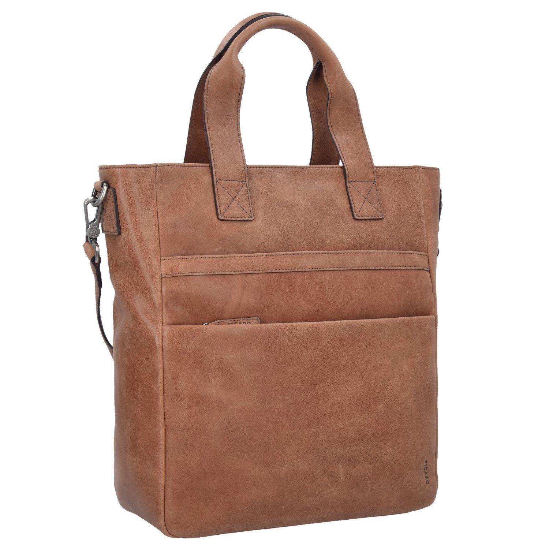 Picard Enzo Shopper Tasche Leder 42 Cm Whisky Taschen Leder Shopper Tasche Taschen