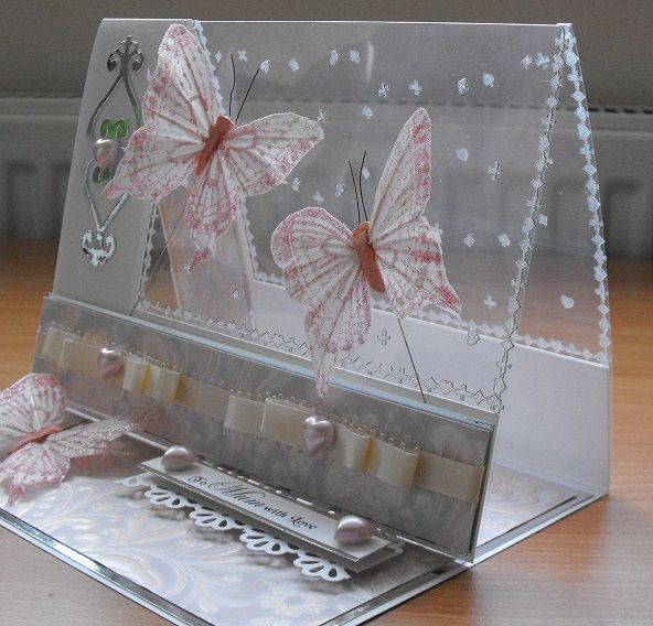 Marvelous Card Making Ideas With Ribbon Part - 7: Pinterest