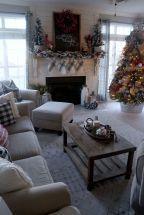 01 Small Apartment Christmas Tree Living Room Decor Ideas #smallapartmentchristm...#apartment #christmas #decor #ideas #living #room #small #smallapartmentchristm #tree