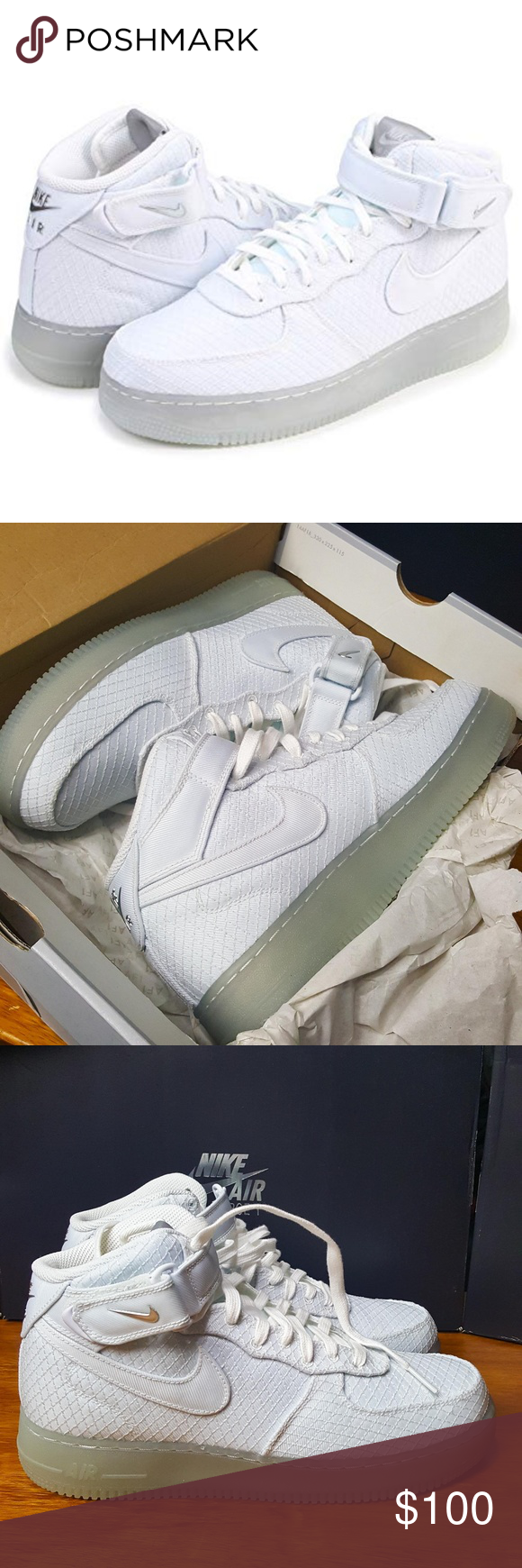 info for 91815 42985 Nike Air Force 1 Mid  07 804609-12 White  NK002  Nike Air