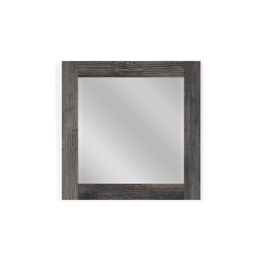 Bathroom Mirrors Made In Usa mirrors2go modern contemporary, wall mounted wood mirror frame