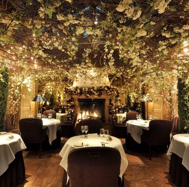 Christmas Places To Visit In London: Clos Maggiore Reataurant , Covent Gatden, London