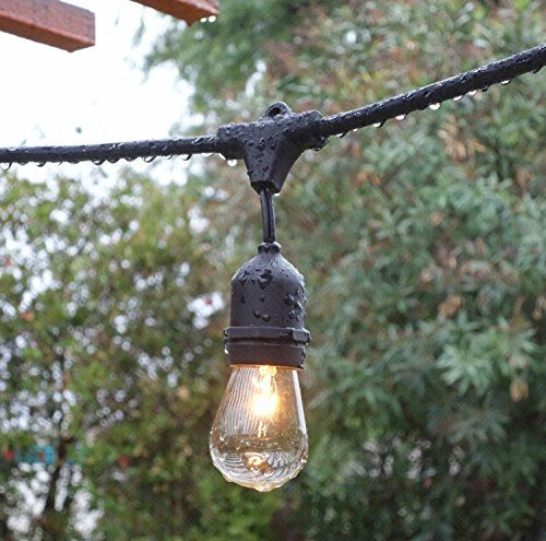 Feit Electric String Lights Fascinating 33 Feet Outdoor String Lights  Commercial Vintage Weathehttp Decorating Design
