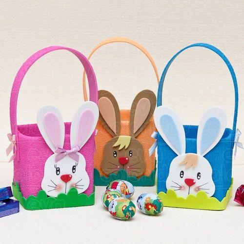 Moldes De Cestas De Pascoa Em Eva πασχα Easter Crafts Easter