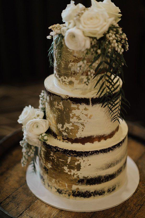 Rach Matt Cake Wedding Dessert Reception Layer Tier Gold