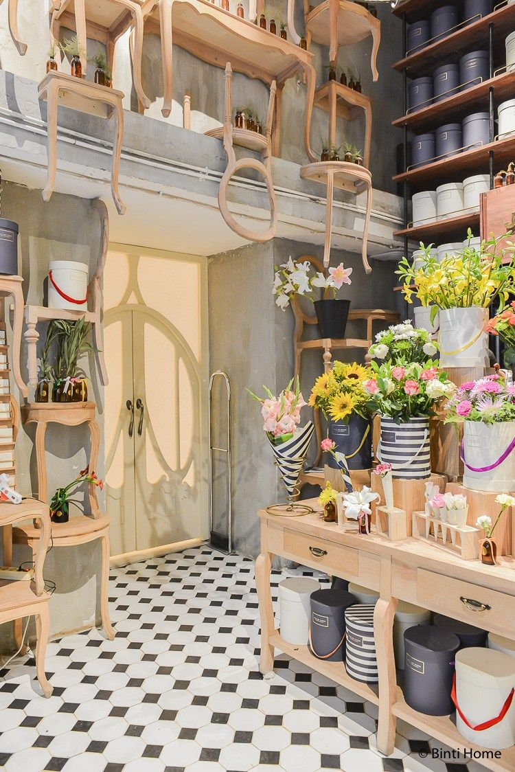 Flower shop Cairo Joie de Vivre at new hotspot Maison69