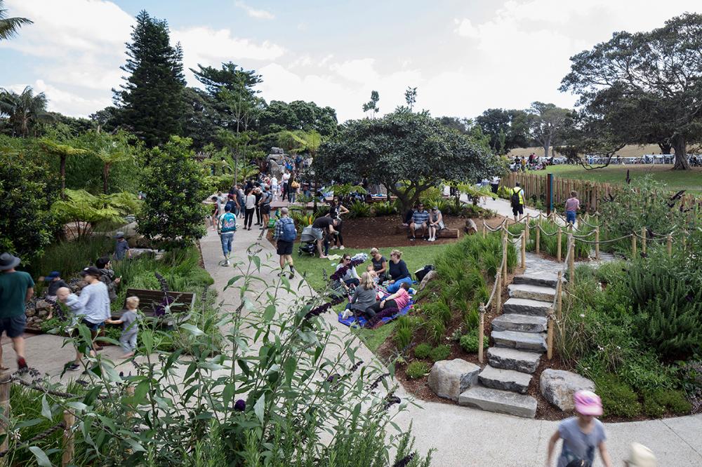 Ian Potter Children S Wild Play By Aspect Studios Landscape Architecture Pla With Images Landscape Architecture Park Landscape Architecture Australia Landscape