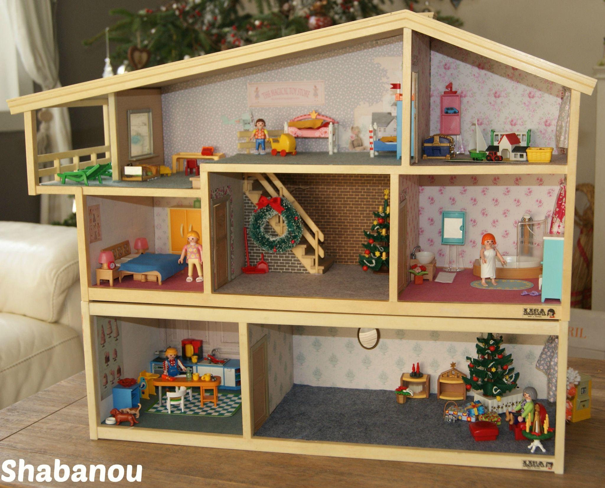 Maison de poup e shabanouscrap barbie diy dollhouse home decor et home - Site de bricolage maison ...