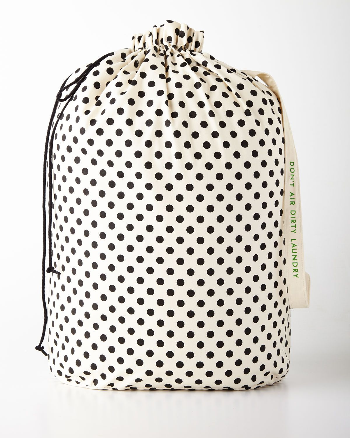 Kate Spade New York Black Dots Laundry Bag Canvas Laundry Bag