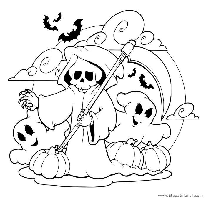 Dibujos Para Halloween De Miedo Excellent Com Dibujos De Miedo Para Halloween Para Colorear Dibujos De Halloween Diseno De Tatuaje De Buho