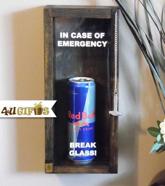 in case of emergency break glass custom shadow box. Black Bedroom Furniture Sets. Home Design Ideas