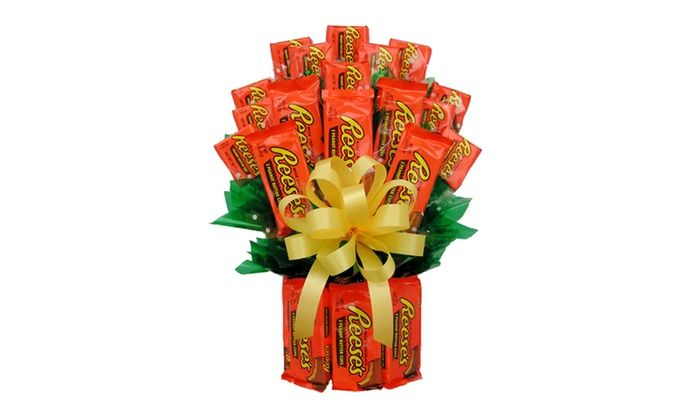 I Ate My Gift IAMG014M All Reeses Candy Bouquet