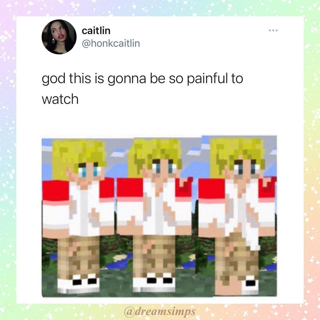 D Not Pog At All My Dream Team Funny Relatable Memes Funny Laugh