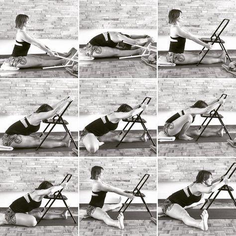 "Gaby Abalo    • ૐ• on Instagram ""Terminando la semana de forwardbend con esta yogasequence chairyoga  dandasana paschimottanasana janusirsasana marichasana…"" is part of Yoga - 219 Likes, 3 Comments  Gaby Abalo    • ૐ• (@gabyabaloyoga) on Instagram ""Terminando la semana de forwardbend con esta yogasequence chairyoga  dandasana…"""