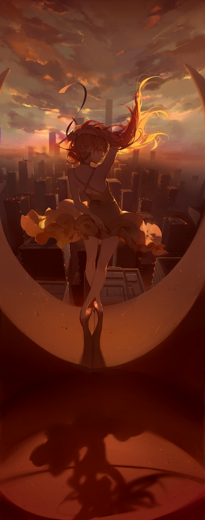 Sunset by ASK