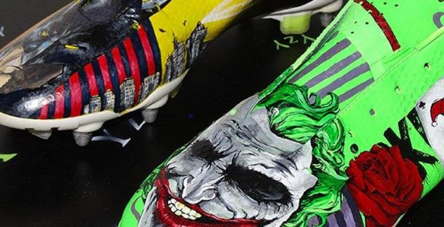 cheap for discount f2b6d 159ec Batman y Joker, en unas botas personalizadas de Nike