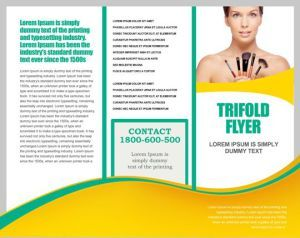 Tri Fold Brochure Template With Borders  Free Tri Fold Brochure