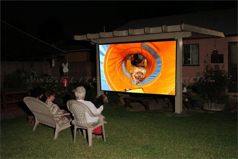 Diy pro series outdoor projector screen diy outdoor