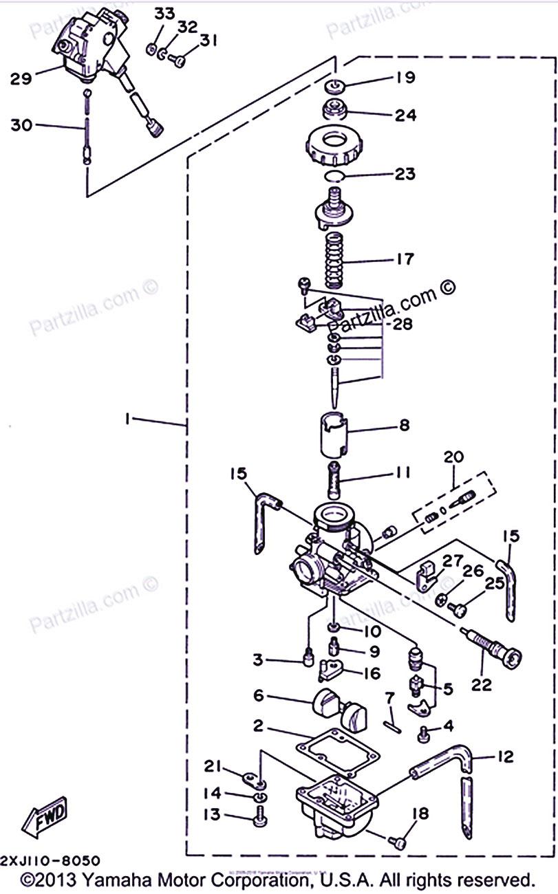 Yamaha Blaster Carburetor Diagram Yamaha Virago Yamaha Yamaha Raptor 700