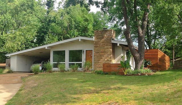 Mid Century Ranch hey little house, you might be my dream house. mid century modern