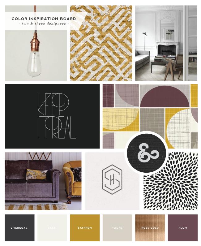 Logo and Brand Design :: Two & Three Designers - Saffron Avenue | Graphic Design + Brand Styling