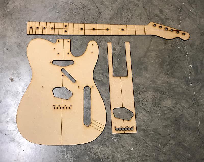 Guitar Building Templates Classic Telecaster Template 1958 Guitar Building Templates Reverb Guitar Building Telecaster Guitar Guitar