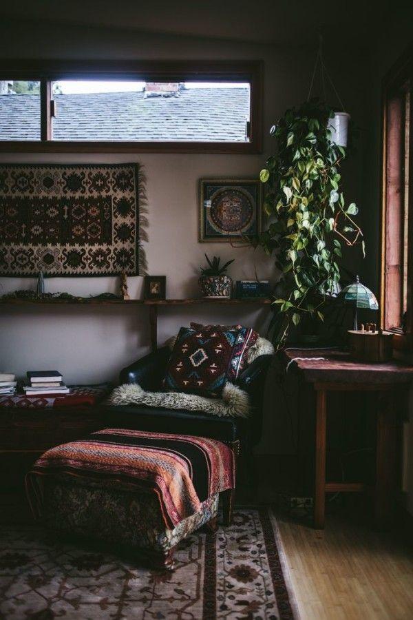 Interiors To Inspire Dark Bohemian Boho Room Decor House
