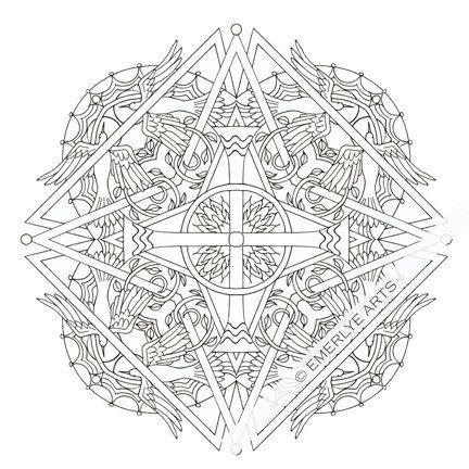 Mandala Coloring Pages Christian | Bgcentrum