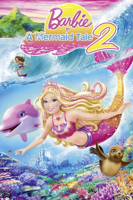 Barbie In A Mermaid Tale 2 Movie Poster Kelly Sheridan Ashleigh