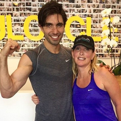 Our CEO Maryl  recently had a chance to work out with @akiniko of @akins.army - read more about him this week on our blog! #ontheblog #fitness #akinsarmy #soulcycle #akinakman