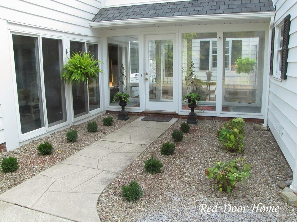 Breezeway With New Plantings Breezeway Pinterest