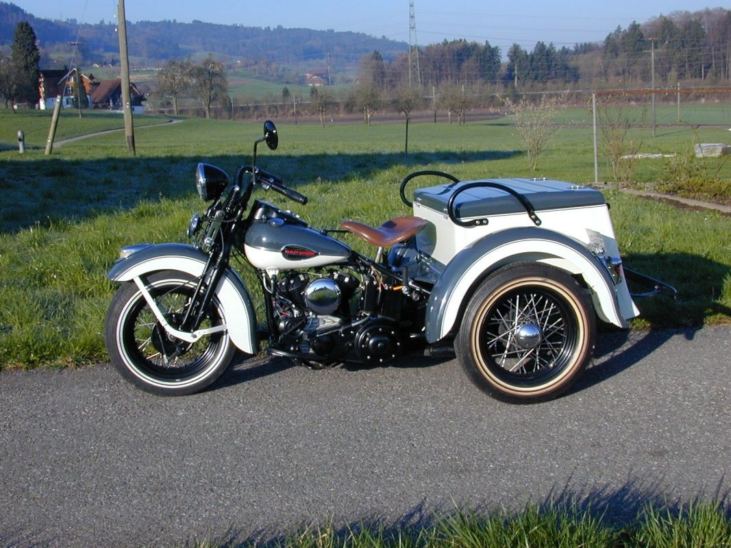 1942 Harley Davidson Trike Servi Car Classic Driver Market My