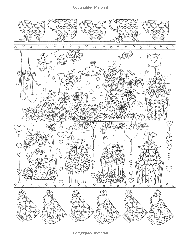 Creative Haven Let There Be Love Coloring Book (Adult