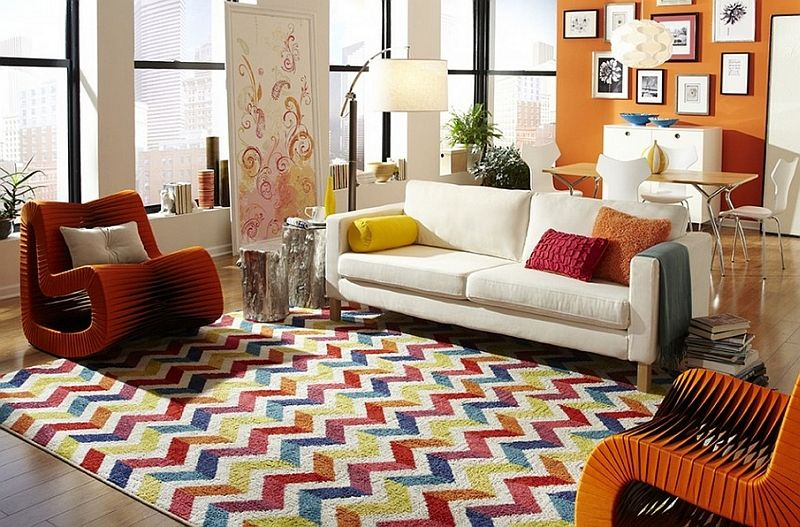 Chevron Pattern Ideas For Living Rooms Rugs Drapes And Accent Classy Carpet For Living Room Designs Design Ideas