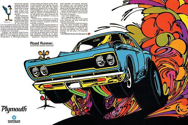 1968 PLYMOUTH BARRACUDA HEMI MOPAR A3 POSTER AD ADVERT ADVERTISEMENT BROCHURE