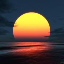 Huge Sunset