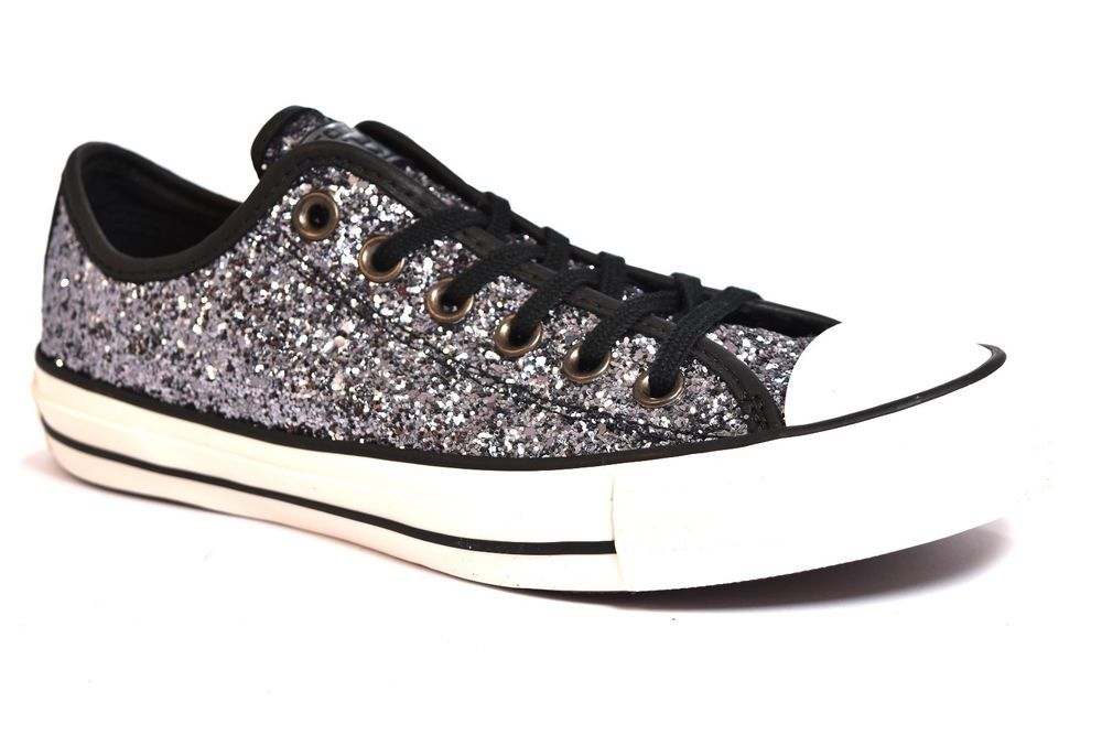 all star converse argento donna