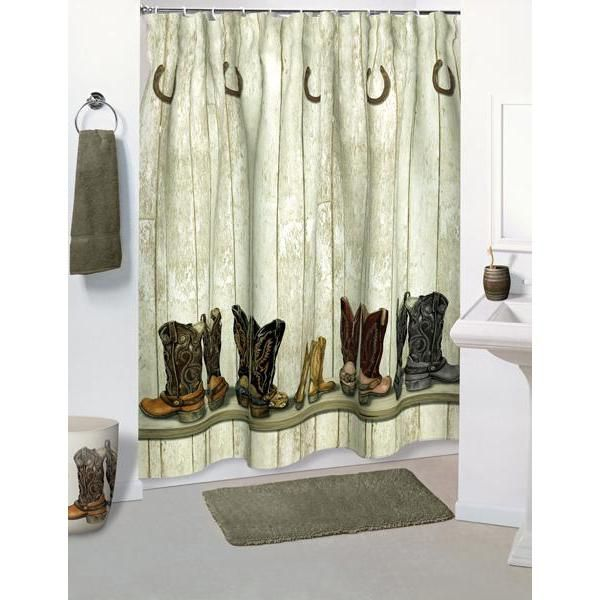 Products / Shower Curtains / Saddle Up Cowboy Western Shower