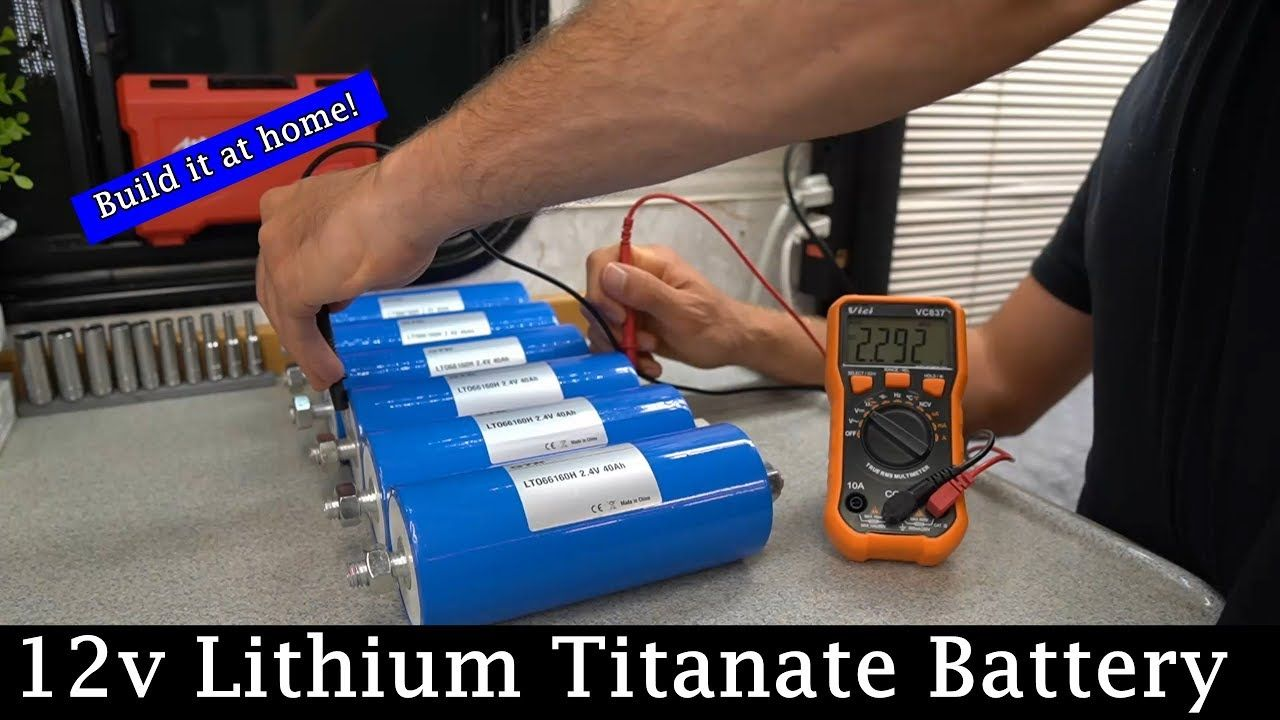 DIY 12v LTO (Lithium Titanate) Battery YouTube Solar