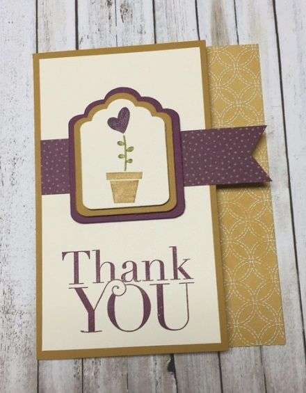 Another Thank You stamp set, Gifts from the Garden stamp set, Farmers Market designer paper