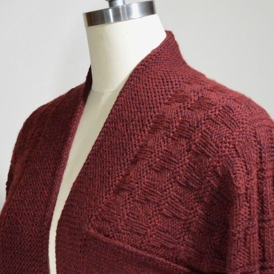 Simple And Practical, This Cardigan With Its Loose Fit And