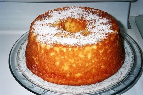 Pineapple Sour Cream Pudding Cake Recipe Sour Cream Cake Sour Cream Pound Cake Pudding Cake