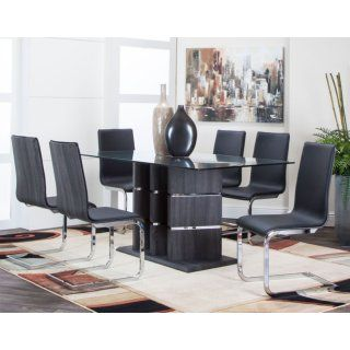 The Ronin Collection Glass Dining Set Office Table Chairs Dining Room Sets