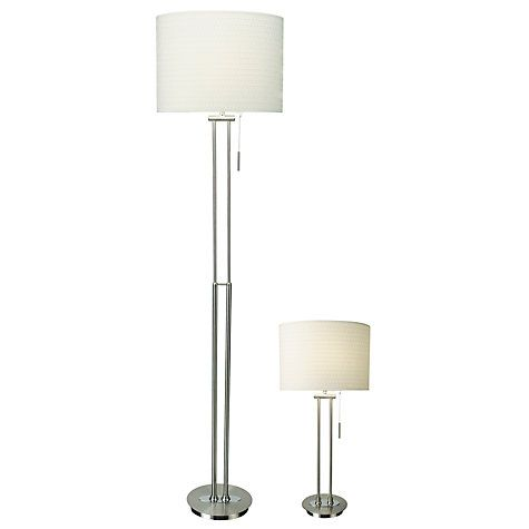 Jl lamp set swc 2 bedroom pinterest preston john lewis and buy john lewis preston table and floor lamp duo mozeypictures Choice Image
